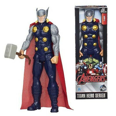 """12"""" Marvel The Avengers Titan Hero Series Action Figure Thor Kid Collectable Toy"""