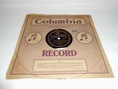 "LOS BROWN AND HIS ORCHESTRA FLOATIN 78 rpm SCHELLACK 10"" COLUMBIA RECORD DW 5233"