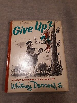 Give Up? A New Cartoon Collection (Whitney Darrow Jr. - 1966)