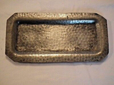 Vintage Pewter Pin Tray, By Hutton Sheffield