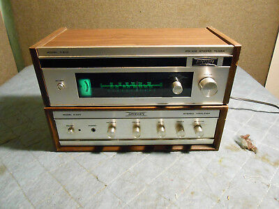 Superscope Model T-210 AM/FM Tuner with Matching Model A-225 Amplifier