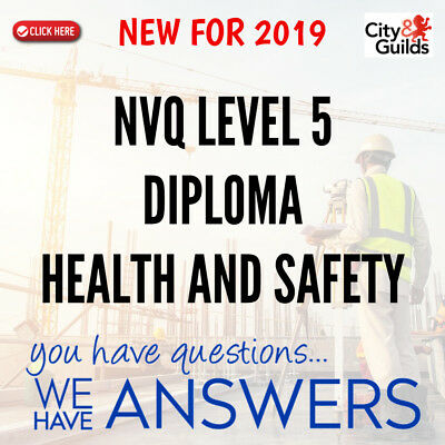 NVQ Level 5 Health and Safety ANSWERS **Quick Dispatch**