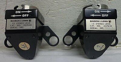 Bausch & Lomb 1X Stereo Lens Cat.No. 537030 Zoom 240 + Others Microscope