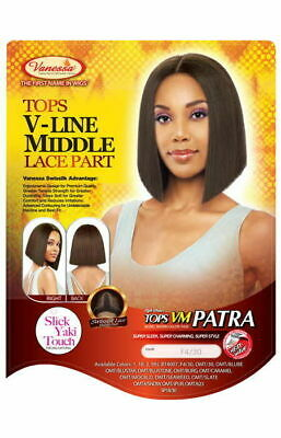 Vanessa Topa V-Line Middle Lace Part  Lace Front Wig TOPS VM PATRA