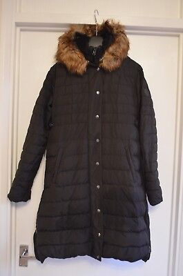 Seraphine Maternity Coat Black Size 10 Womens Down