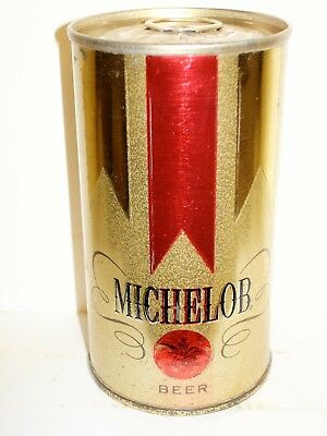 """MICHELOB """"TEST?...RED DOT"""" S/S  Beer Can R143"""