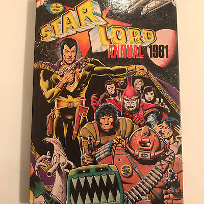 Star Lord 1981 Annual unclipped - 2000AD