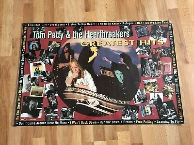 Tom Petty & The Heartbreakers Promotional Poster Greatest Hits (1993)