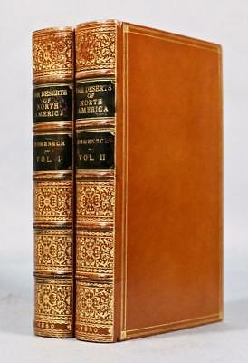 1860 Indian Tribes Deserts of North America Sangorski & Sutcliffe Color Plates