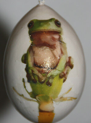 gourd Christmas ornament with frog