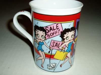 Betty Boop Danbury Mint Fine Porcelain Collector Mugs Shopping Spree Betty