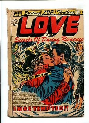 Love Stories #13 VINTAGE Golden Age 10c Comic LB Cole Romance