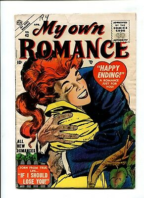 My Own Romance #43 VINTAGE Marvel Atlas Comic Golden Age 10c Love Story