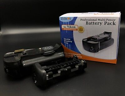 Zeikos Multi Power Battery Pack Grip for Nikon D300, D300s, D700