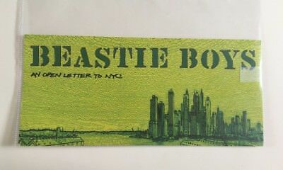 Beastie Boys stencil Promoting <An Open Letter To New York City>
