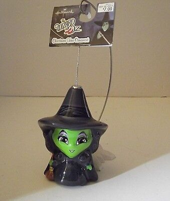 Hallmark WICKED WITCH WIZARD OF OZ Puff Glass Christmas Ornament - Target 2018