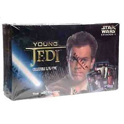 STAR WARS YOUNG JEDI CCG - Jedi Council Cards Booster Box (Decipher) #NEW