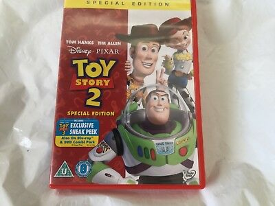 Toy Story 2 (DVD, 2010) special edition, like new condition U rated
