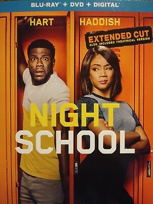 Night School Extended Cut Blu Ray (DVD, and Digital Download)