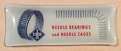 1960s Promotional Advertising Pin/ Change Dish: INA Needle Bearings and Cages
