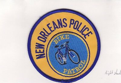 New Orleans Louisiana Bike Patrol Police Patch Right Shoulder New Condition