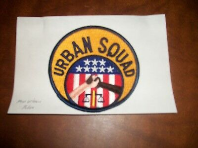 New Orleans Louisiana Urban Squad Police Patch New