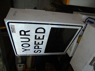 SPEED DISPLAY SIGNS for SALE or HIRE   POLE OR BARROW MOUNTED