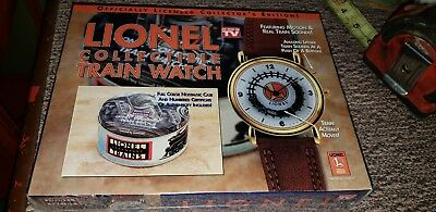 Lionel Collectible Train Watch SEALED NIB