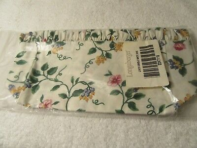 Longaberger CANDLE Liner NEW in Package White Vine 2247118