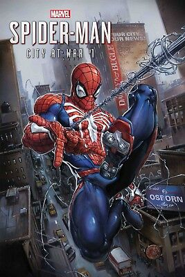 AMAZING SPIDERMAN CITY AT WAR 1 (of 6) CLAYTON CRAIN 1st PRINT NM PRE-SALE 3/20