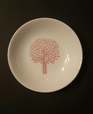 Four Seasons Restaurant NYC Butter Pat Dish/Ashtray SPRING Tree Pink