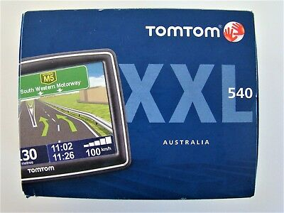 "Tom Tom XXL 540 Mountable 5"" Screen GPS Tomtom - New - Fast Free Postage"
