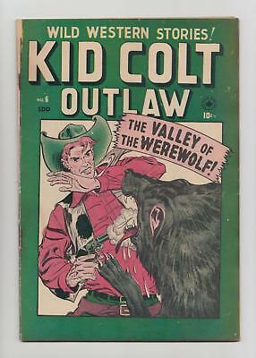 Kid Colt Outlaw #6 Canadian Edition (Superior Publishers 1949) VG/FN 5.0