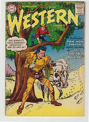 "Western Comics #62 - April 1957 - ""The Fadeaway Outlaw!"""