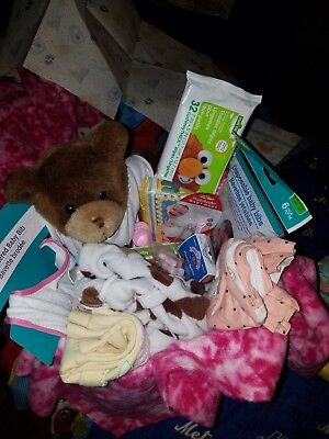 Baby Shower Gift Basket For A Baby Girl