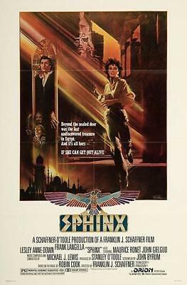 RARE 16mm Feature: SPHINX (KODAK SP-CINEMASCOPE) Frank Langella--Lesley Ann Down