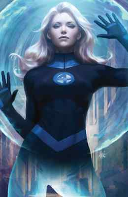 Fantastic Four 1 Comicxposure Stanley Artgerm Lau Invisible Woman Virgin Variant