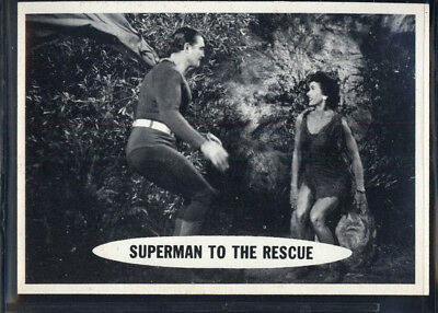 1966 Topps Superman #34 Superman To The Rescue (NM/MT) *690115