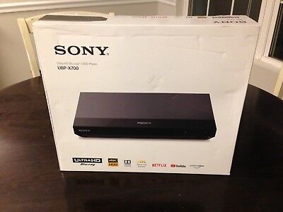 Sony UBP-X700 4K Blu-ray Player BRAND NEW