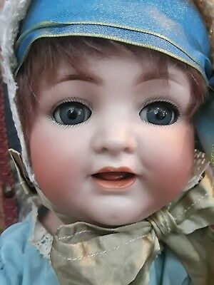 Sweet Simon Halbig Antique Bisque Baby Doll,  126 15""