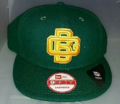 Green Bay Packers New Era GB Historic Logo Baycik 9FIFTY Snapback  Adjustable Hat 92dc58ed0