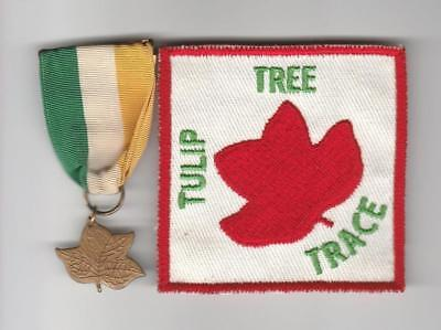 Trail Medal Tulip Tree Trace with patch