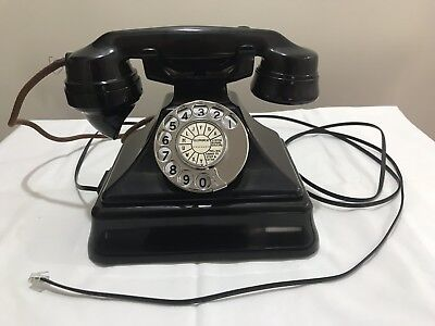 vintage King Pyramid Telephone Circa 1930's. In full Working Order