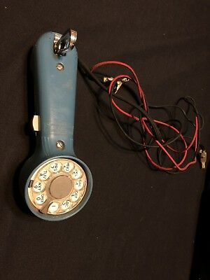 Bell System Property Western Electric Phone Blue