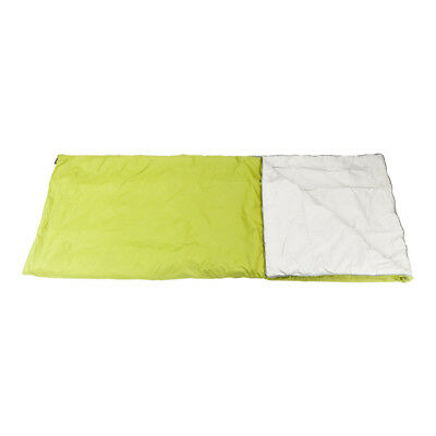 Outdoor Sleeping Bag Envelope Camping Travel Hiking Ultra-light Green