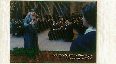 HARRY POTTER GOBLET OF FIRE UPDATE 4-CARD SEALED PROMO PACK 01 to 04 artbox 2006