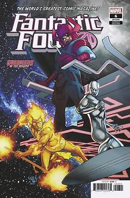 Fantastic Four #6 Ferry Gotg Variant Marvel Nm 1St Print 2019
