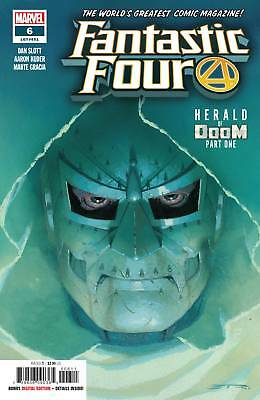 Fantastic Four #6 Marvel Nm 1St Print 2019