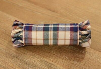 Longaberger Handle Gripper ~ Woven Traditions Plaid ~ NIB