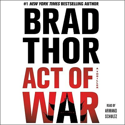 Act of War (Scot Harvath #14) by Brad Thor (2014, Unabridged) 10 CDs